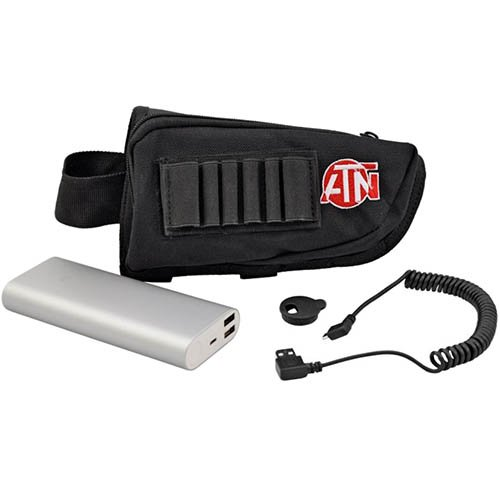 ATN Power Weapon Kit 20,000mAh Battery Pack w/USB Connector