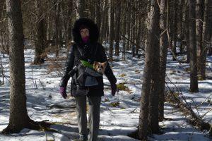 Millie and Me - Sax-zim bog birding