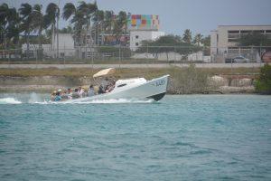 water taxi - flamingo beach aruba